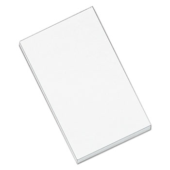 Universal® Scratch Pads, Unruled, 3 x 5, White, 100 Sheets, 12/Pack