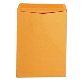 Universal Catalog Envelope, #10 1/2, Square Flap, Gummed Closure, 9 x 12, Brown Kraft, 250/Box