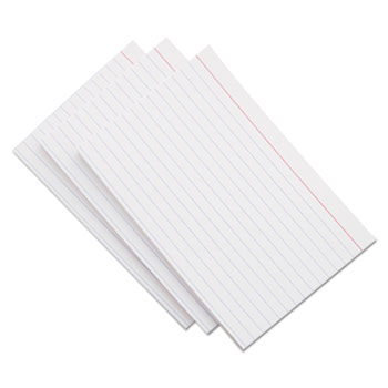 Universal Ruled Index Cards