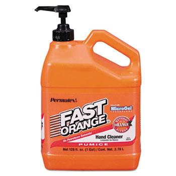 FAST ORANGE® Pumice Hand Cleaner, Citrus Scent, 1 gal Dispenser