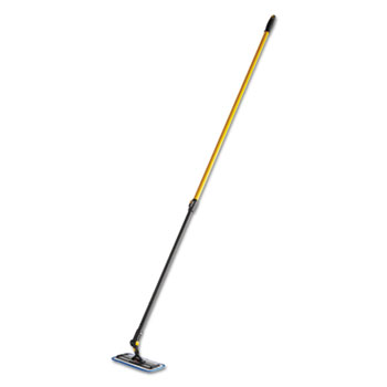 """Rubbermaid® Commercial Maximizer Overhead Cleaning Tool, 71.5"""" Length, Black"""