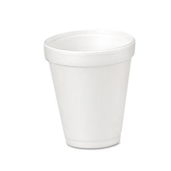 Dart® Cups, Foam, 4oz, 25/Pack, 40 Packs/CT