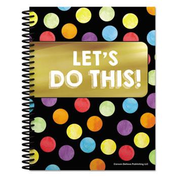 """Carson-Dellosa Publishing Teacher Planners, 8.5"""" X 11"""", Black,"""