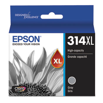 Epson® T314XL720S, Ink, Gray, 830 Page-Yield
