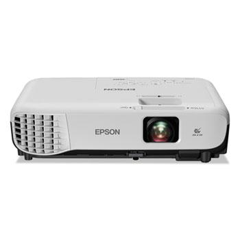 Epson® VS355 WXGA 3LCD Projector, 3,300 lm, 1280 x 800 Pixels, 1.2x Zoom