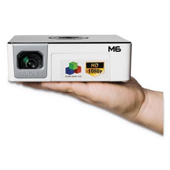 AAXA M6 LED Pico Projector, 1200 Lumens, 1920 x 1080 Pixels