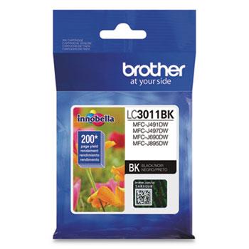 Brother LC3011BK Ink, Black