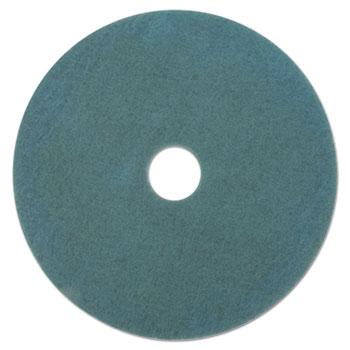 """Boardwalk® Aqua Burnishing Floor Pads, 20"""" Diameter, 5/Carton"""