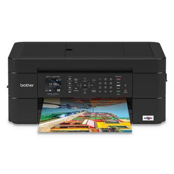 Brother Work Smart MFC-J491DW Multifunction Inkjet, Copy/Fax/Print/Scan