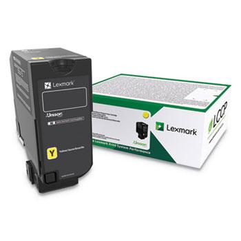 Lexmark™ CS725, High-Yield, Toner, 12,000 Page-Yield, Yellow