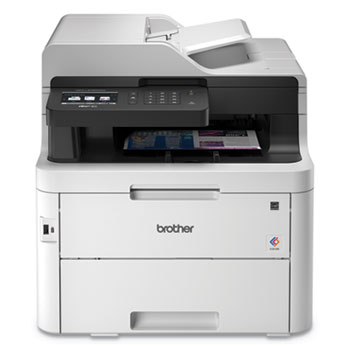 Brother MFC-L3750CDW Color Wireless Laser All-in-One Printer, Copy/Fax/Print/Scan