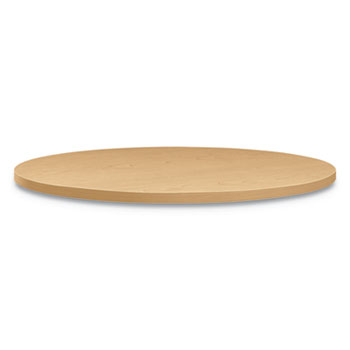"""HON® Between Round Table Tops, 30"""" Dia., Natural Maple"""