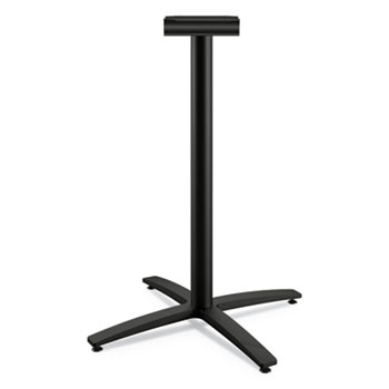 """HON® Between Standing-Height X-Base for 42"""" Table Tops, 32.68w x 41.12h, Black"""