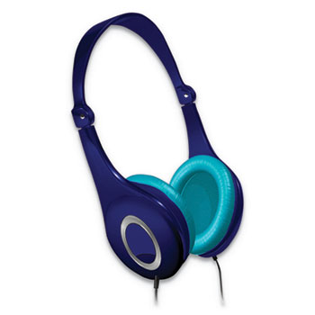 Maxell® Safe Soundz Volume Limiting Noise Cancellation Headphone, Blue