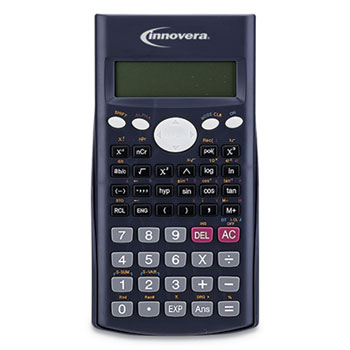 15969 Scientific Calculator, 240 Functions, 10-Digit LCD, Two Display Lines