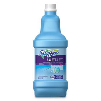 WetJet System Cleaning-Solution Refill, Fresh Scent, 1.25 L Bottle