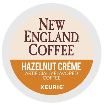 Hazelnut Crème K-Cup® Pods, 24/BX