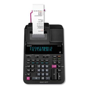 Casio® DR210R Printing Calculator, 4.4 Lines/Sec
