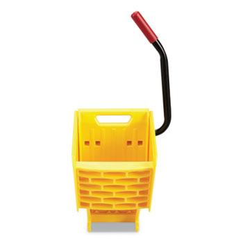 Rubbermaid® Commercial WaveBrake 2.0 Wringer, Side Press, Plastic, Yellow