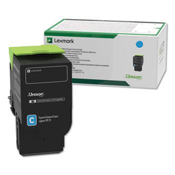 Lexmark™ C231HC0, High-Yield, Toner, 2300 Page-Yield, Cyan