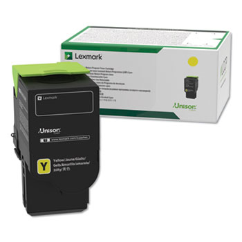 Lexmark™ C231HY0, High-Yield, Toner, 2300 Page-Yield, Yellow