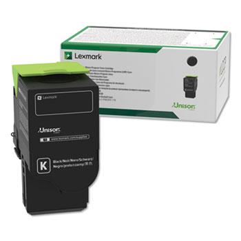 Lexmark™ C241XK0, Extra High-Yield, Toner, 6000 Page-Yield, Black