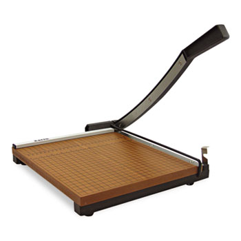 """X-ACTO® Square Commercial Grade Wood Base Guillotine Trimmer, 15 Sheets, 15"""" x 15"""""""