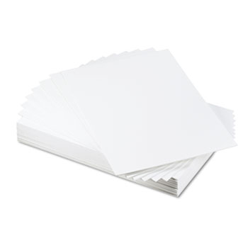 Elmer's® CFC-Free Polystyrene Foam Board, 20 x 30, White Surface and Core, 25/Carton