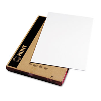 Polystyrene Foam Board, 20 x 30, White Surface and Core, 10/Carton
