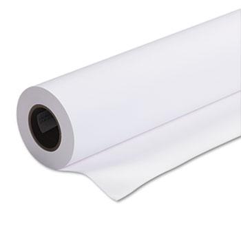 "Singleweight Matte Paper, 120 g, 2"" Core, 24"" x 131.7 ft., White"