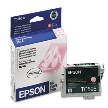Epson® T059620 (59) UltraChrome K3 Ink, Light Magenta