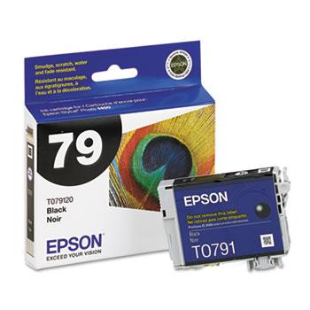 Epson® T079120 (79) Claria Ink, Black