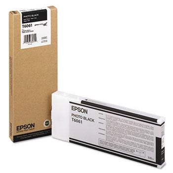 Epson® T606100 (60) Ink, Photo Black