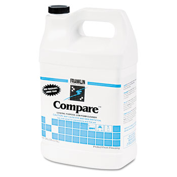 Franklin Cleaning Technology® Compare Floor Cleaner, 1gal Bottle, 4/Carton