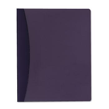 GBC® Report Cover w/Hidden Swing Clip, Letter Size, Blue