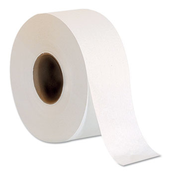 "Georgia Pacific® Professional Jumbo Jr. One-Ply Bath Tissue Roll, 9"" dia, 2000', 8 Rolls/CT"