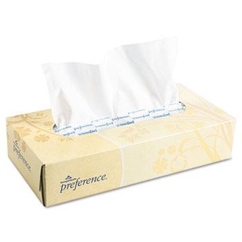 Georgia Pacific® Professional Facial Tissue, Flat Box, 100 Sheets/Box, 30 Boxes/CT