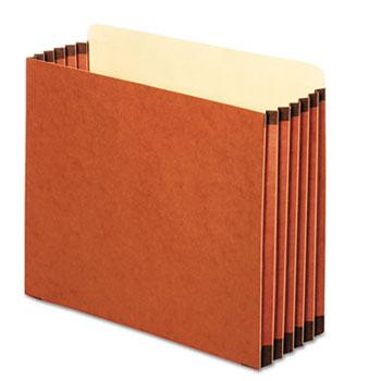 Pendaflex® File Cabinet Pockets, Straight Cut, 1 Pocket, Letter, Redrope, 10/BX