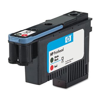 HP 70, (C9409A) Black/Red Printhead