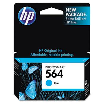 HP 564 Ink Cartridge, Cyan (CB318WN)