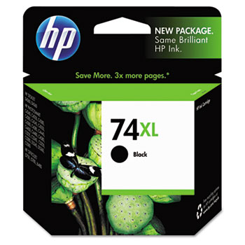 74XL Ink Cartridge, Black (CB336WN)