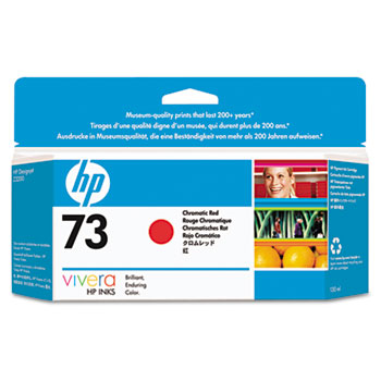 HP 73, (CD951A) Chromatic Red Original Ink Cartridge