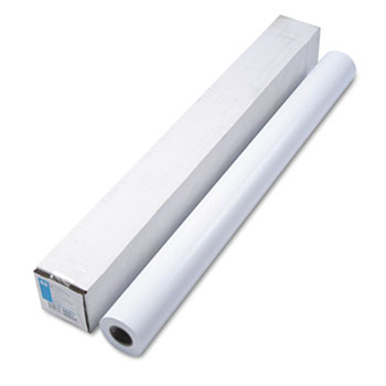 """HP Designjet Large Format Instant Dry Semi-Gloss Photo Paper, 42"""" x 100 ft., White"""