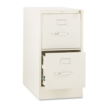 310 Series Two-Drawer, Full-Suspension File, Letter, 26-1/2d, Putty