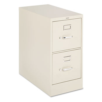 "H320 Series Two-Drawer, Full-Suspension File, Letter, 26-1/2"" Deep, Putty"