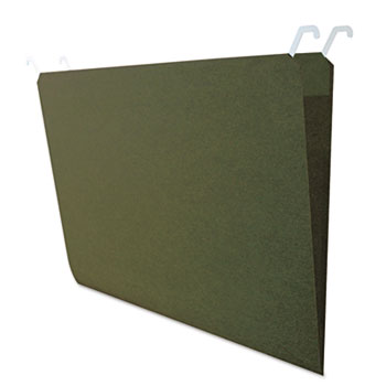 find It™ Hanging File Folders with Innovative Top Rail, Legal, Green, 20/Pack