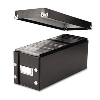 Media Storage Box, Holds 60 Slim/30 Std. Cases