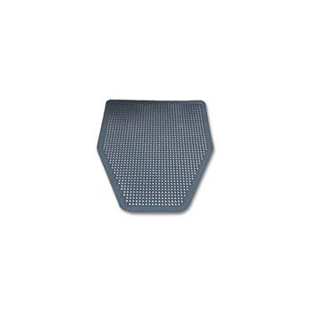 Impact® Disposable Urinal Floor Mat, Nonslip, Green Apple Scent, Gray, 6/CT