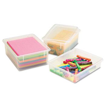 Jonti-Craft Cubbie Trays, 8-5/8w x 13-1/2d x 5-1/4h, Clear
