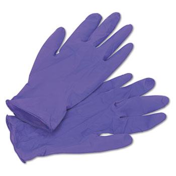 Kimberly-Clark Professional* Nitrile Exam Gloves, Medium, Purple, 100/BX